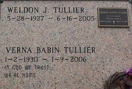 BABIN TULLIER, VERNA - West Baton Rouge County, Louisiana | VERNA BABIN TULLIER - Louisiana Gravestone Photos
