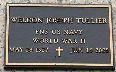 TULLIER, WELDON JOSEPH (VETERAN WWII) - West Baton Rouge County, Louisiana | WELDON JOSEPH (VETERAN WWII) TULLIER - Louisiana Gravestone Photos