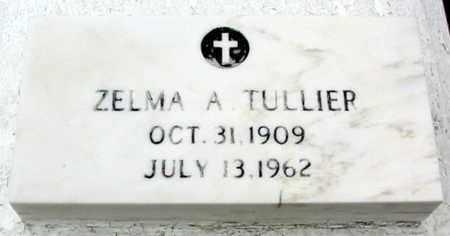 TULLIER, ZELMA A - West Baton Rouge County, Louisiana | ZELMA A TULLIER - Louisiana Gravestone Photos