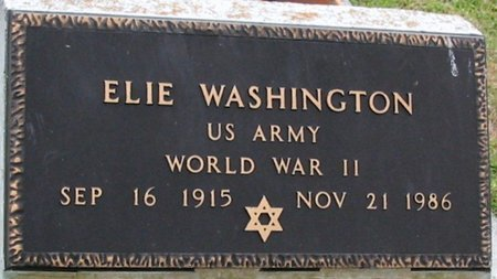 WASHINGTON, ELIE  (VETERAN WWII) - West Baton Rouge County, Louisiana | ELIE  (VETERAN WWII) WASHINGTON - Louisiana Gravestone Photos
