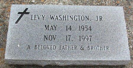 WASHINGTON, LEVY, JR - West Baton Rouge County, Louisiana | LEVY, JR WASHINGTON - Louisiana Gravestone Photos