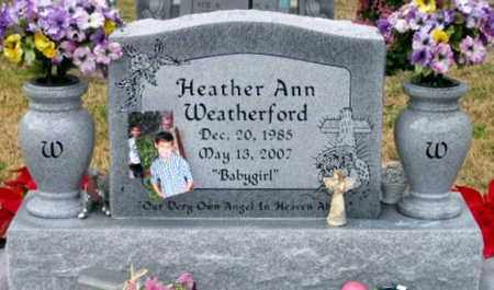 WEATHERFORD, HEATHER ANN - West Baton Rouge County, Louisiana | HEATHER ANN WEATHERFORD - Louisiana Gravestone Photos