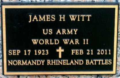 WITT, JAMES H (VETERAN WWII) - West Baton Rouge County, Louisiana | JAMES H (VETERAN WWII) WITT - Louisiana Gravestone Photos