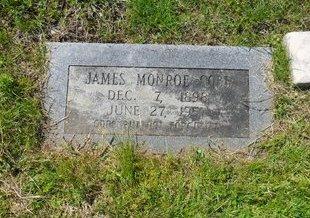 COBB, JAMES MONROE - West Carroll County, Louisiana | JAMES MONROE COBB - Louisiana Gravestone Photos