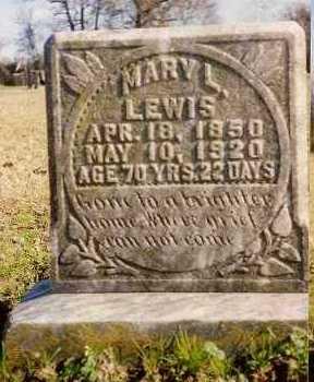 LEWIS, MARY LOUISIANA - West Carroll County, Louisiana | MARY LOUISIANA LEWIS - Louisiana Gravestone Photos