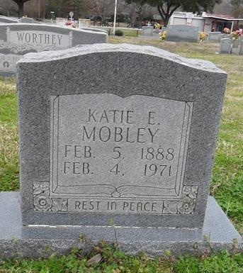 MOBLEY, KATIE E. - West Carroll County, Louisiana | KATIE E. MOBLEY - Louisiana Gravestone Photos