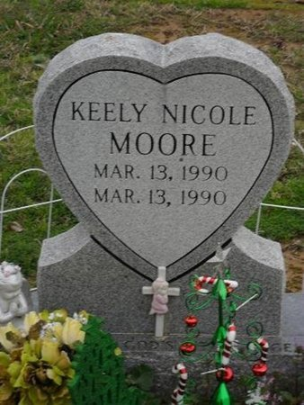 MOORE, KEELY NICOLE - West Carroll County, Louisiana | KEELY NICOLE MOORE - Louisiana Gravestone Photos