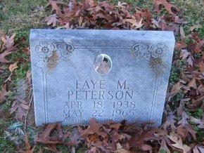 PETERSON, FAYE M - West Carroll County, Louisiana   FAYE M PETERSON - Louisiana Gravestone Photos