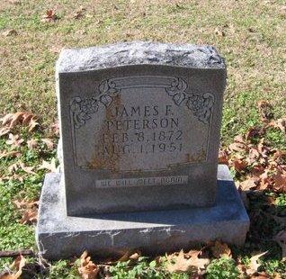 PETERSON, JAMES F - West Carroll County, Louisiana | JAMES F PETERSON - Louisiana Gravestone Photos