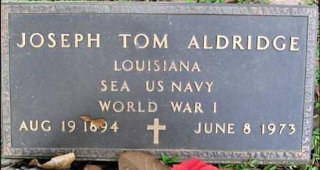 ALDRIDGE, JOSEPH TOM (VETERAN WWI) - West Feliciana County, Louisiana   JOSEPH TOM (VETERAN WWI) ALDRIDGE - Louisiana Gravestone Photos