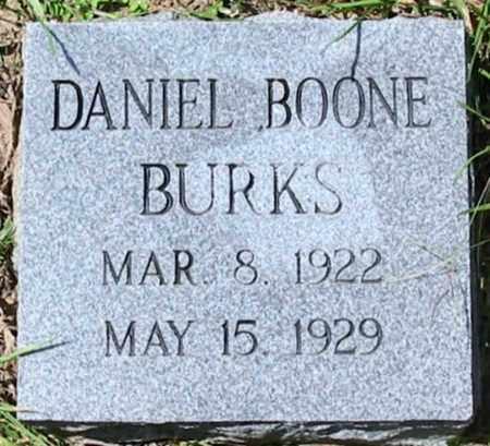BURKS, DANIEL BOONE - West Feliciana County, Louisiana   DANIEL BOONE BURKS - Louisiana Gravestone Photos