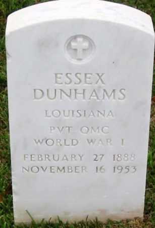DUNHAMS, ESSEX (VETERAN WWI) - West Feliciana County, Louisiana | ESSEX (VETERAN WWI) DUNHAMS - Louisiana Gravestone Photos