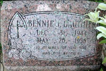GAUTHIER, BENNIE J - West Feliciana County, Louisiana   BENNIE J GAUTHIER - Louisiana Gravestone Photos