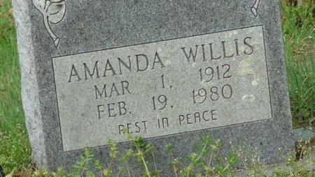WILLIS, AMANDA - West Feliciana County, Louisiana | AMANDA WILLIS - Louisiana Gravestone Photos