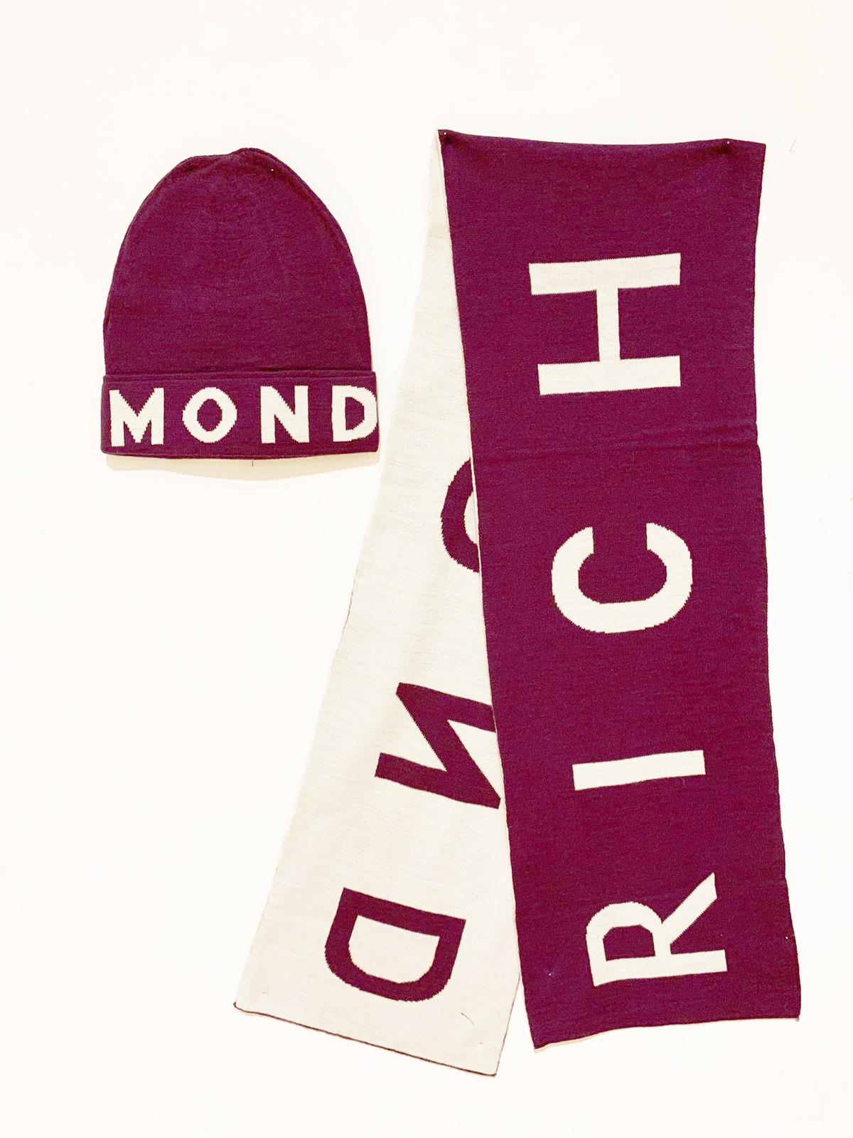 set sciarpa+cappello richmond John richmond | Sciarpa + cappello | HMA20135HSW7139