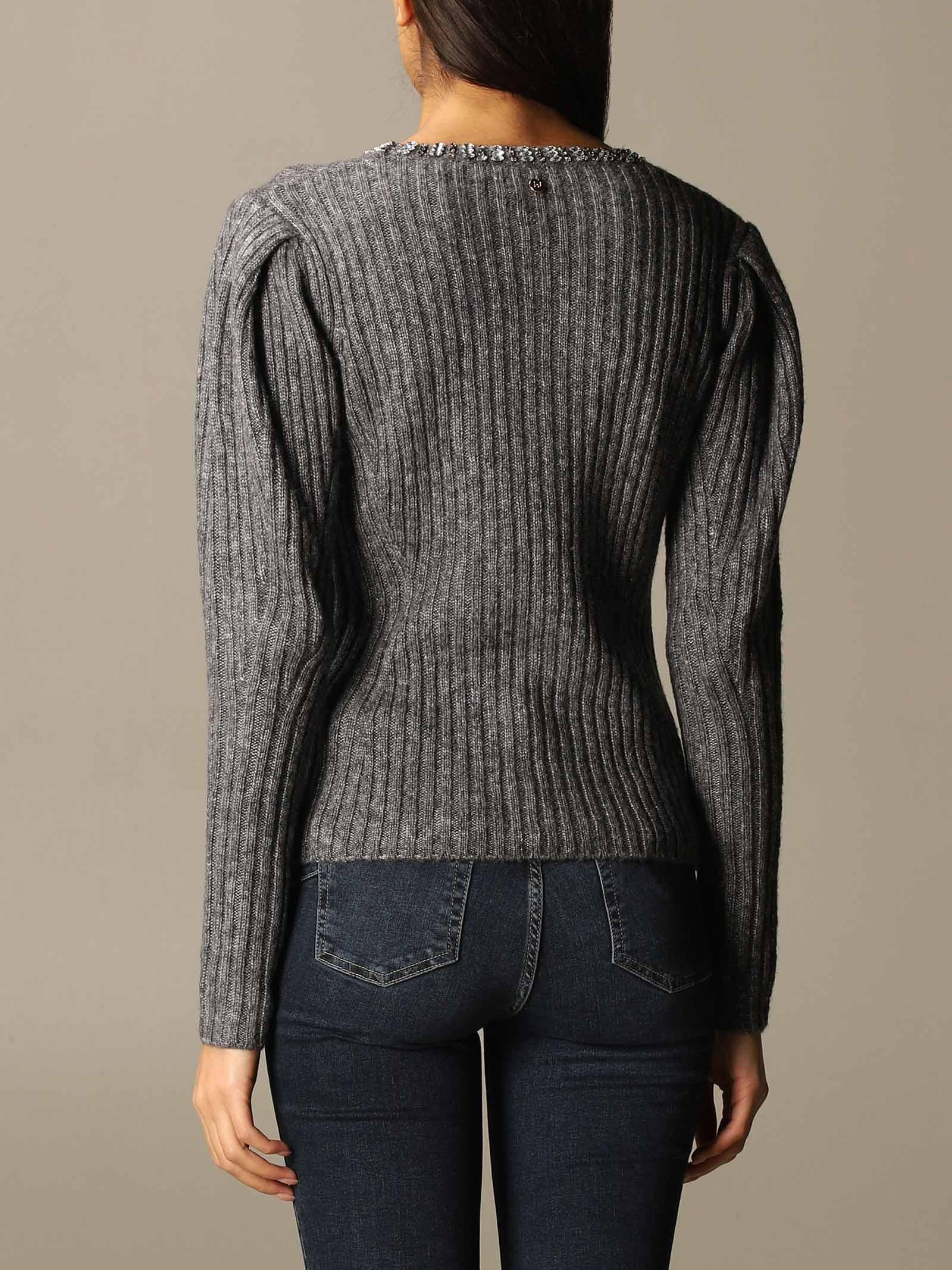 maglia castoni gioiello liu jo LIU JO | Maglia | CF0118 MA30H02083