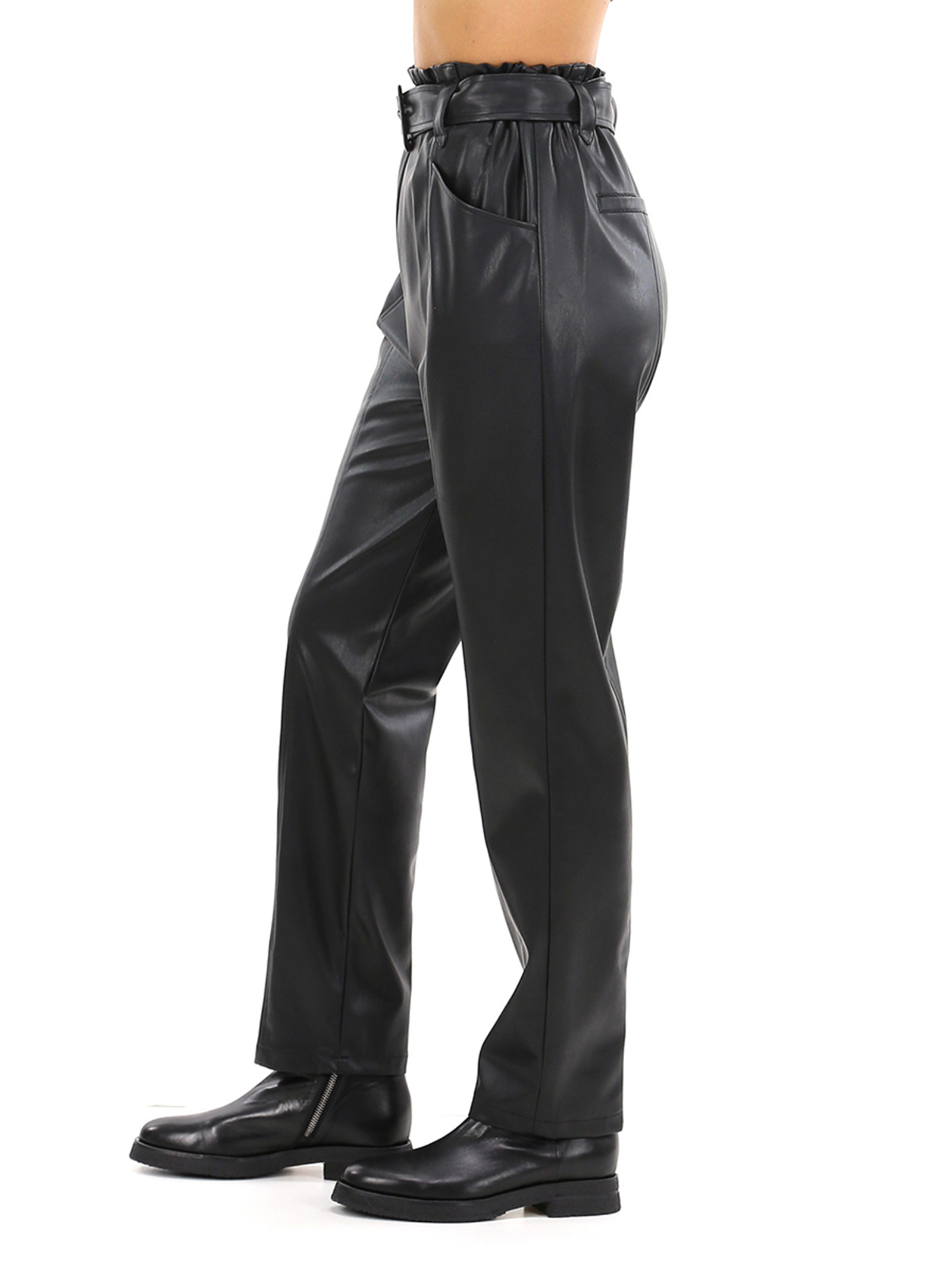 pantalone Jogging ecopelle liu jo LIU JO | Pantalone | WF0233E039222222