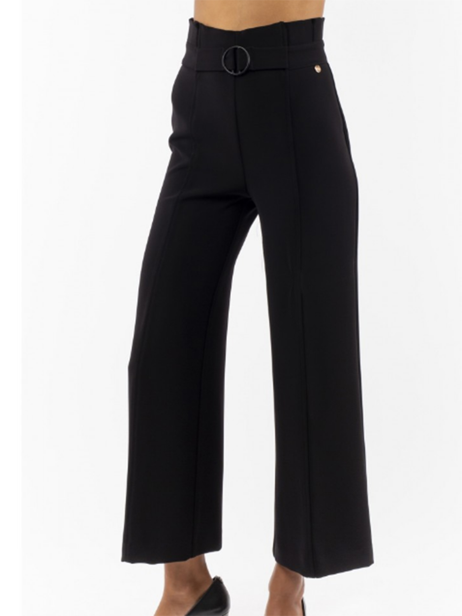 pantalone palazzo cady crepe luckylu LUCKYLU | Pantalone | PA13TR0700