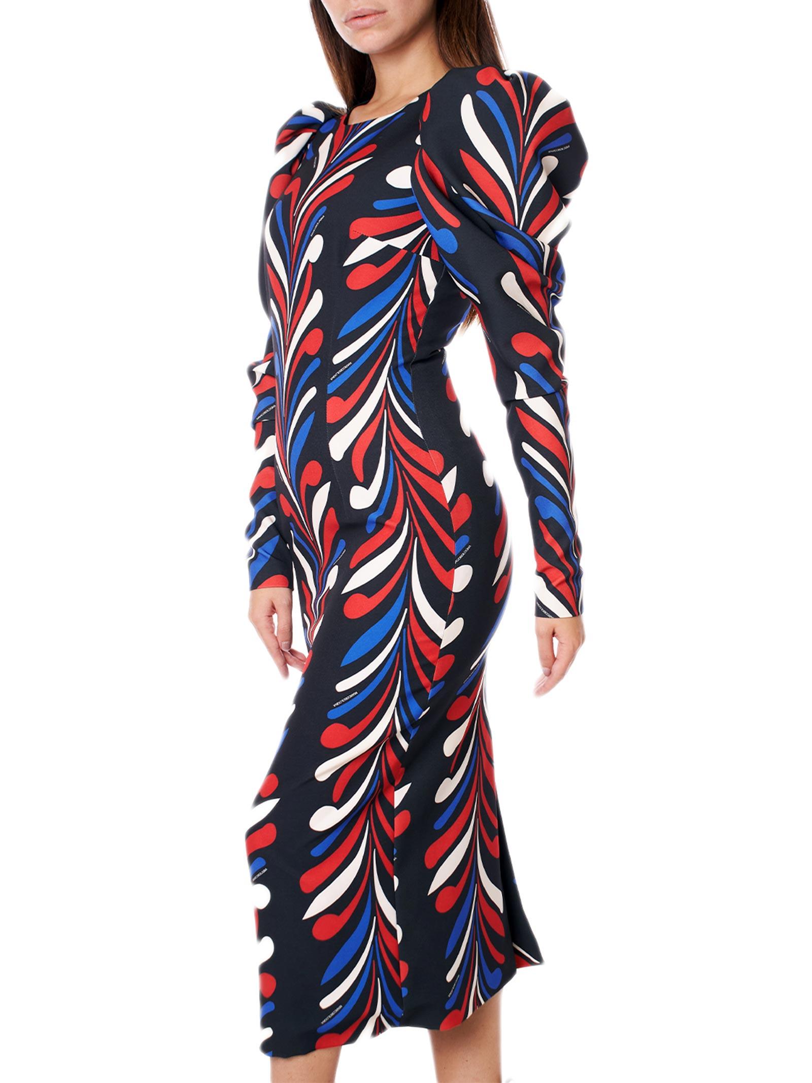 abito longuette dressy multicolor MARCO BOLOGNA | Abito | MWA20411VEBLACK