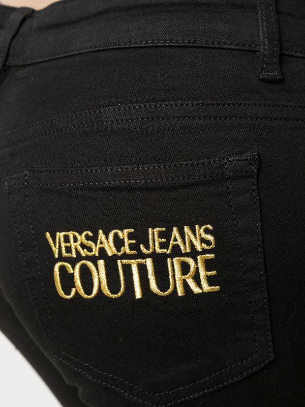 JEANS ELASTICIZZATO LOGO VERSACE JEANS VERSACE JEANS | Jeans | A1 HZA0K4 60366899
