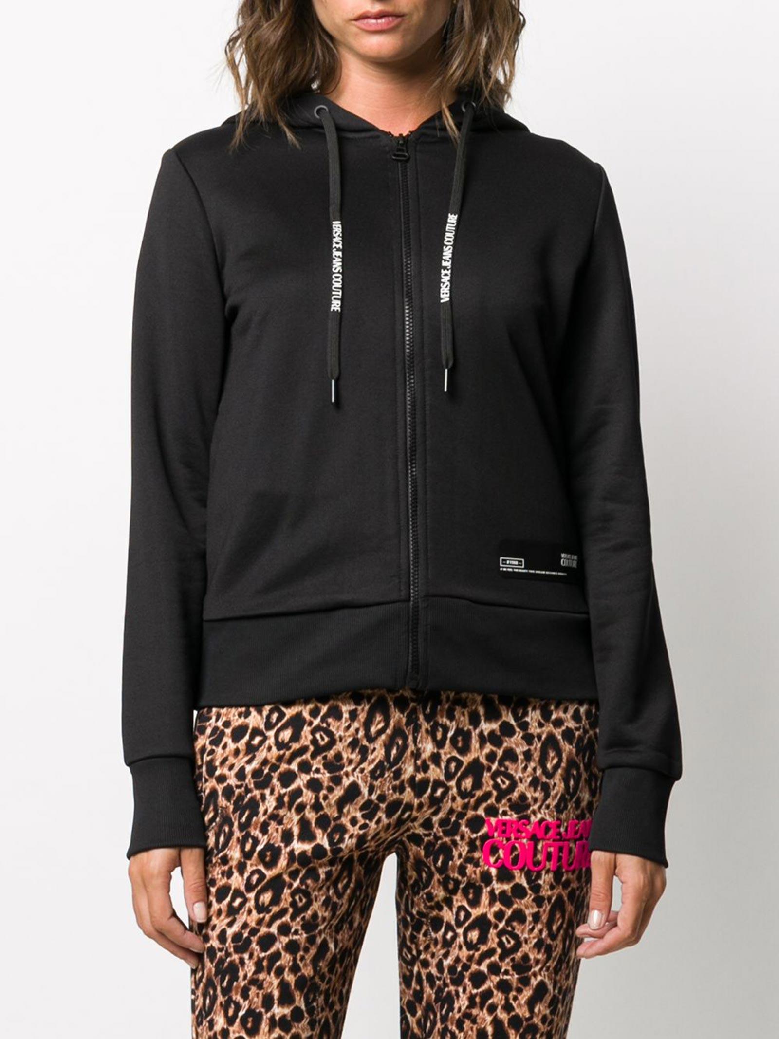 felpa loghi multicolor versace jeans couture VERSACE JEANS | Felpa | B6 HZA7GD 30325899
