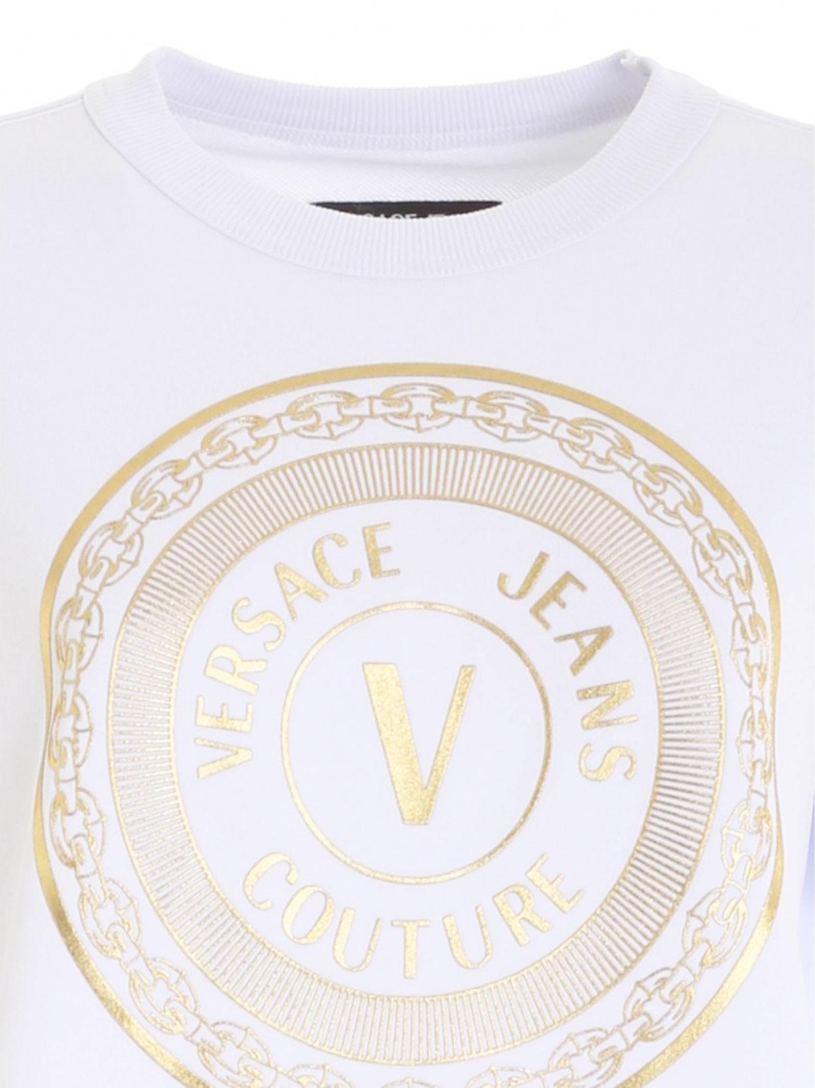 VERSACE JEANS   Sweatshirts   B6HZATX30318K41
