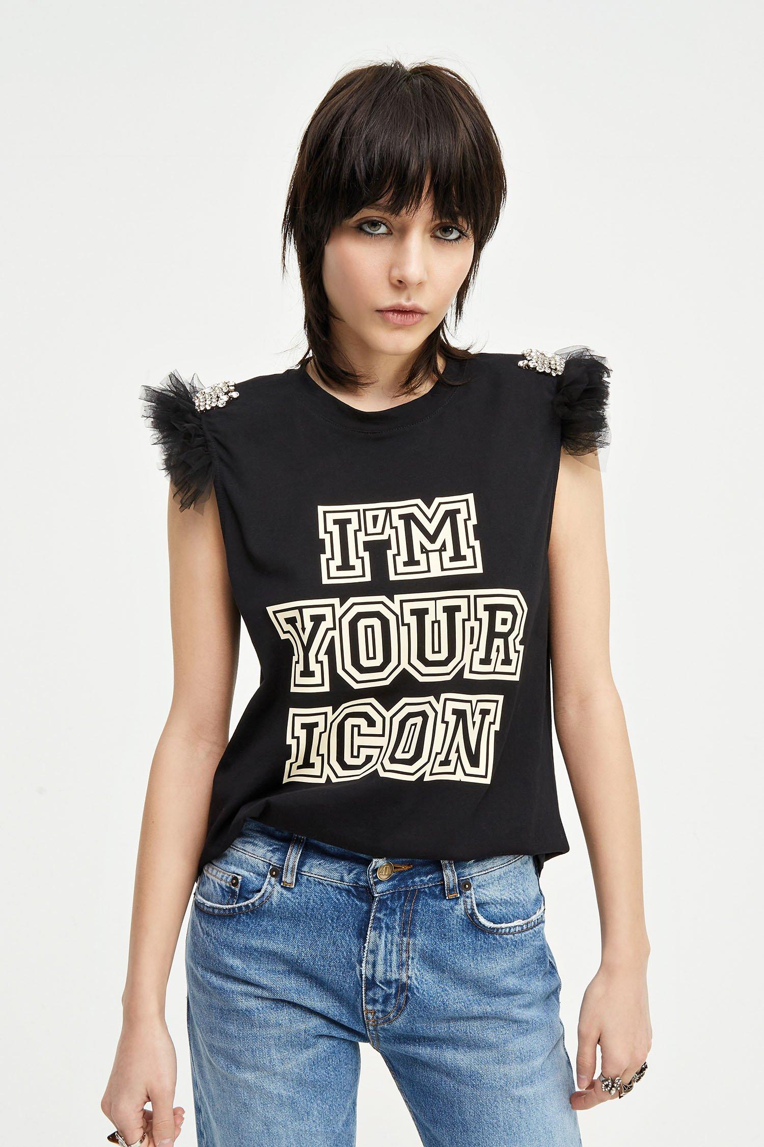 T-shirt Icon  ANIYE BY   T-Shirts   18140000002