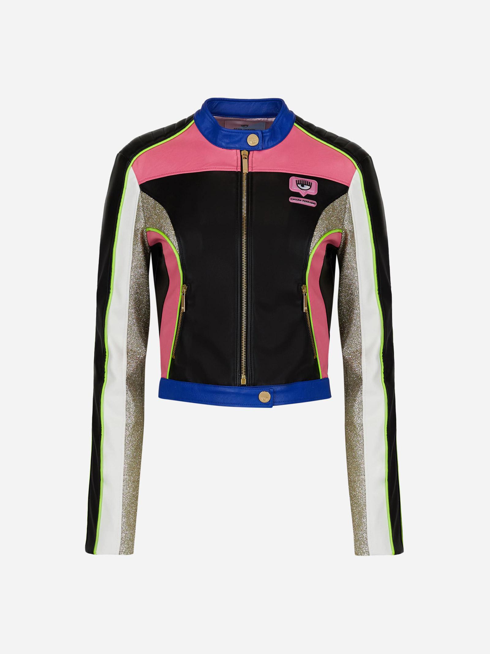 Biker jacket CF Racing CHIARA FERRAGNI | Jacket | 71CBS405899