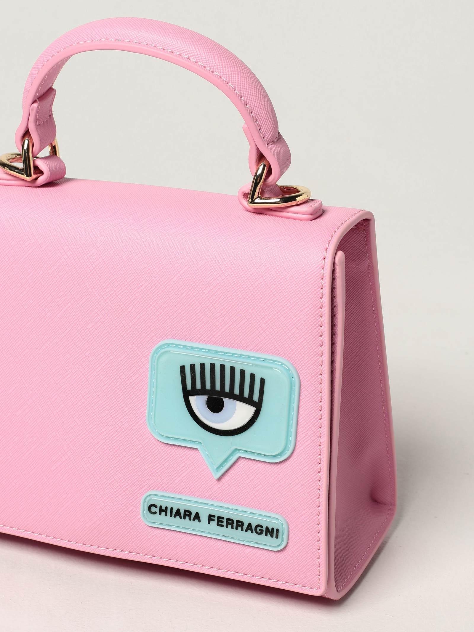Bag eyelike patch  CHIARA FERRAGNI | Bags | 71SB4BC4ZS135414