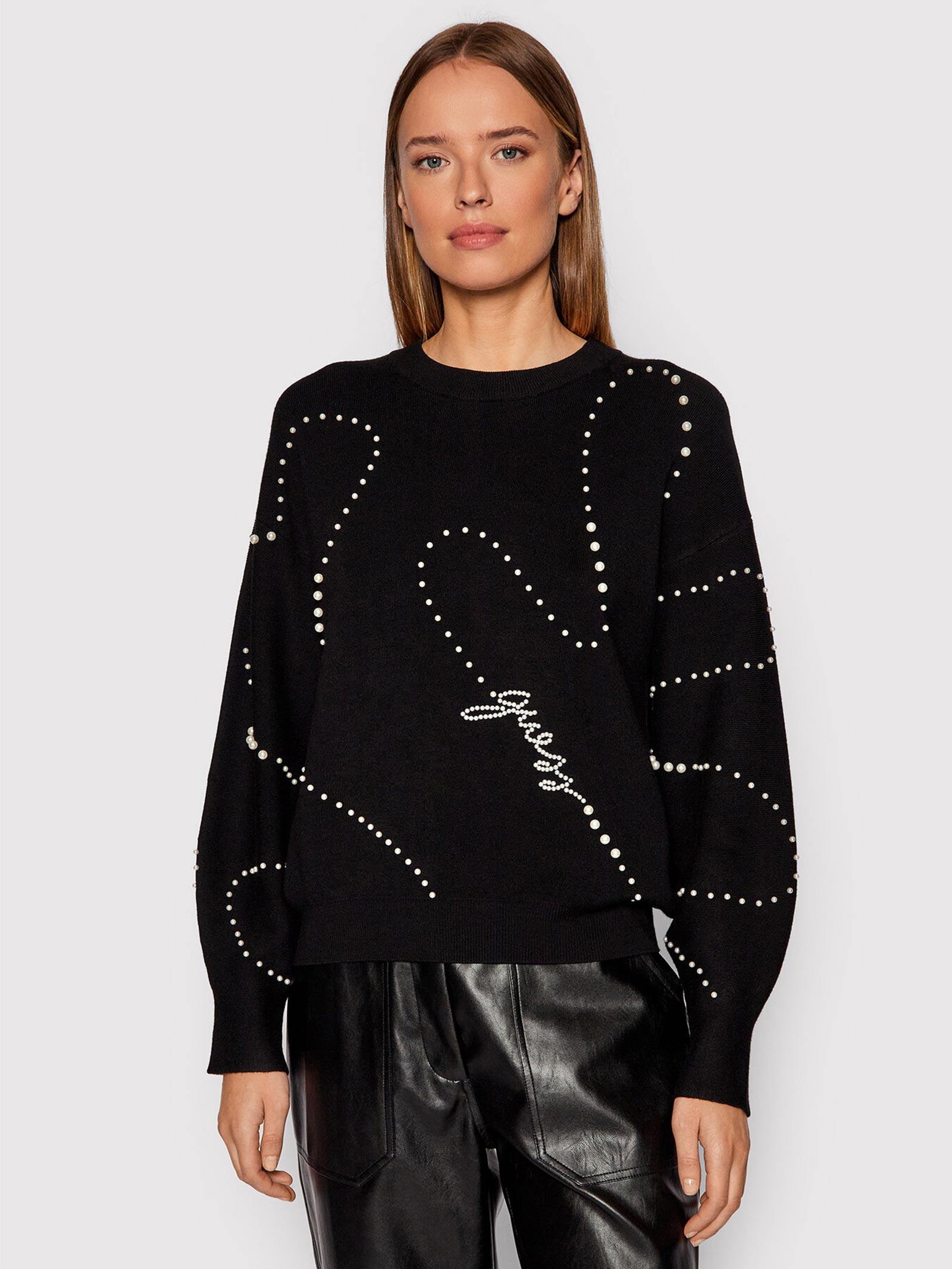Ginny sweater GUESS   knitwear   W1BR25Z26I0JBLK