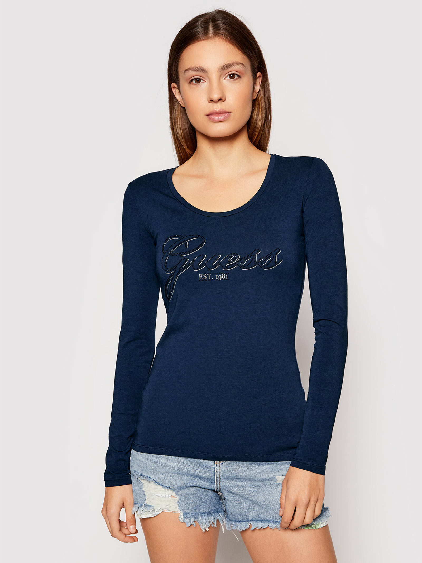 T-Shirt raisa GUESS | Maglie | W1YI90J1311INK