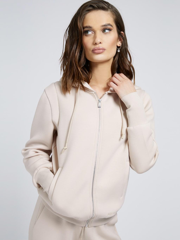 Elsa zipped sweatshirt GUESS | Sweatshirts | W1YQ74KAMN2G1G2