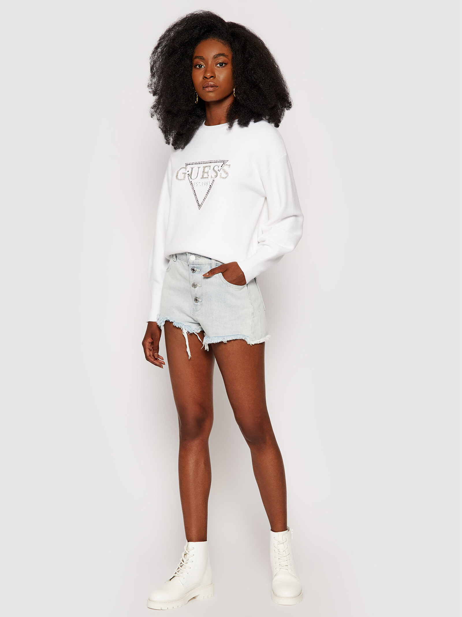 Beatrice sweater GUESS | knitwear | W1YR0QZ26I0G011