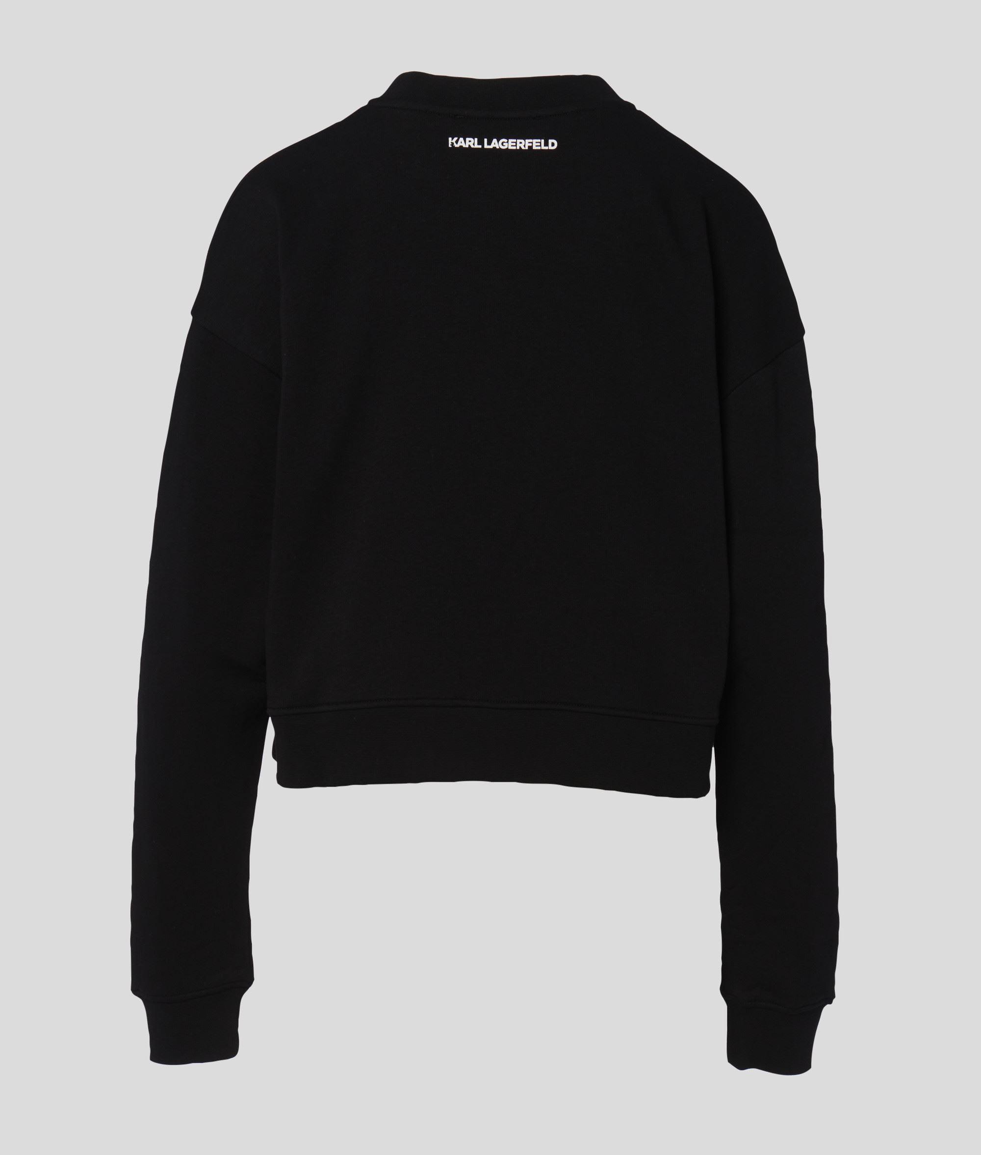 Sweatshirt logo crop KARL LAGERFELD   Sweatshirts   216W1811999