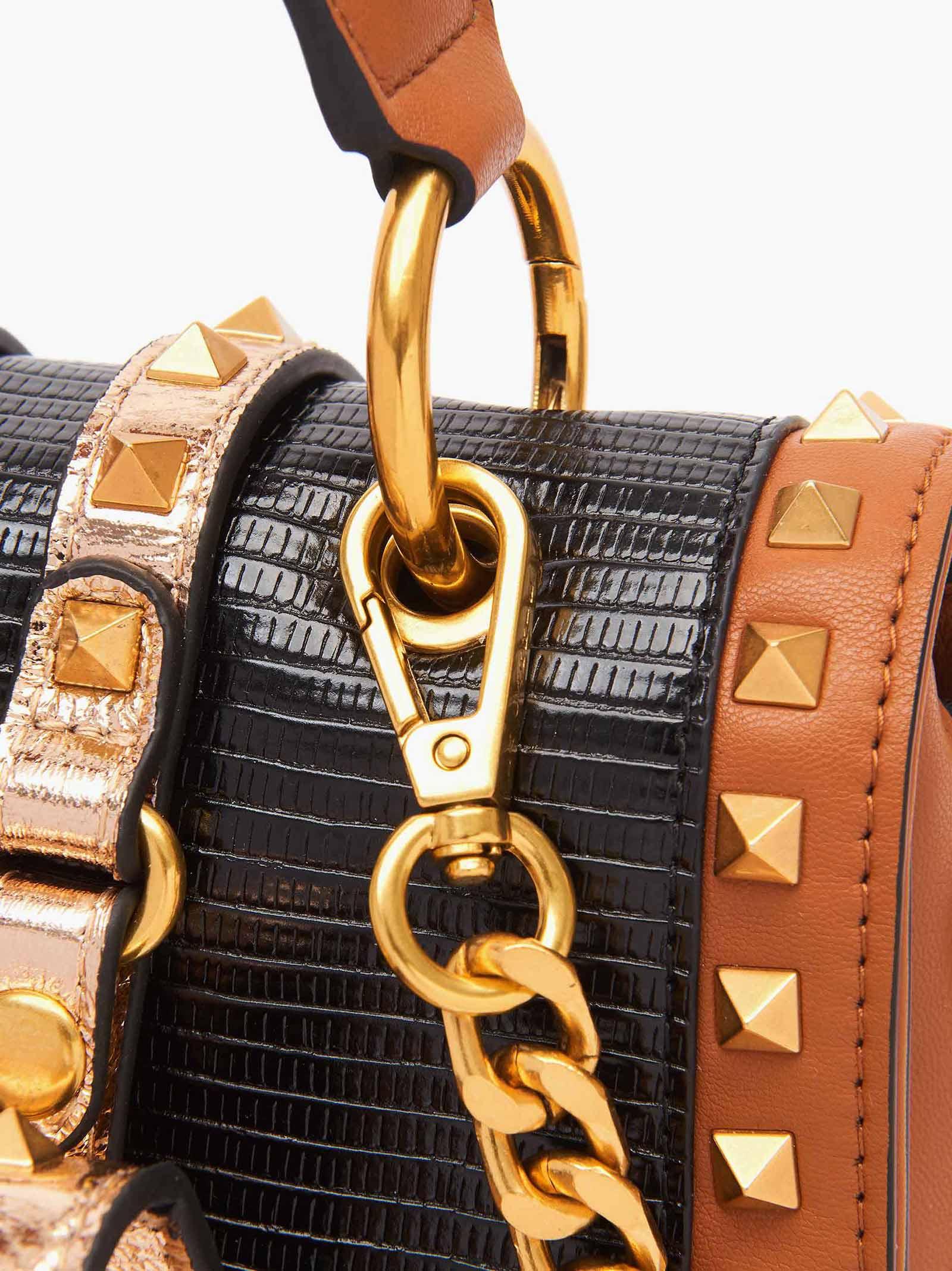 Bag Stripe  LA CARRIE   Bags   112MTM550MULT CUOIO
