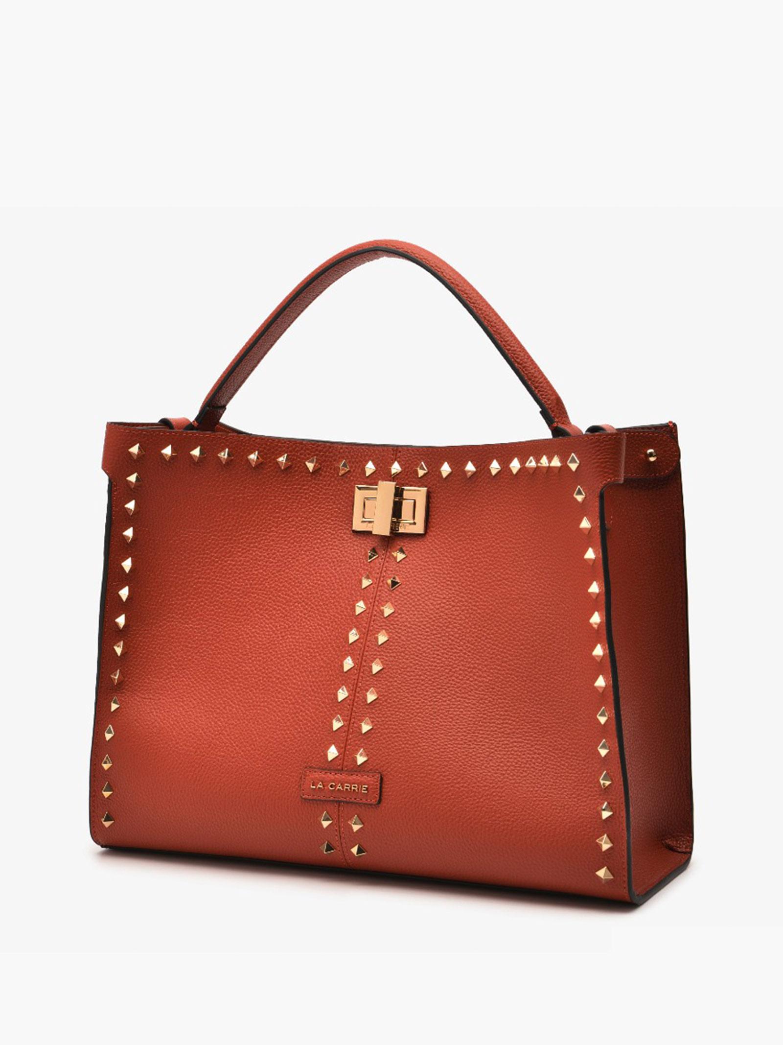 Bag Shopping Stud  LA CARRIE | Bags | 112PSV800DAR ORAN