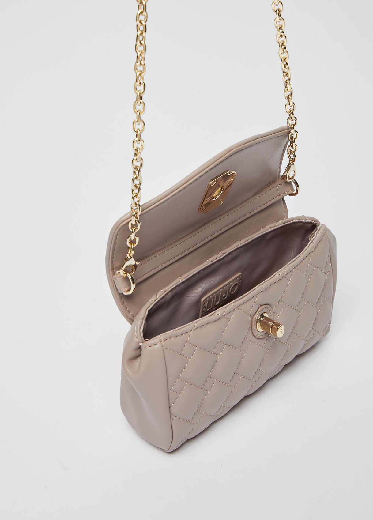 Clutch bag Quilted eco-sustainable Liu Jo  LIU JO   Pochette   AF1177E000561506