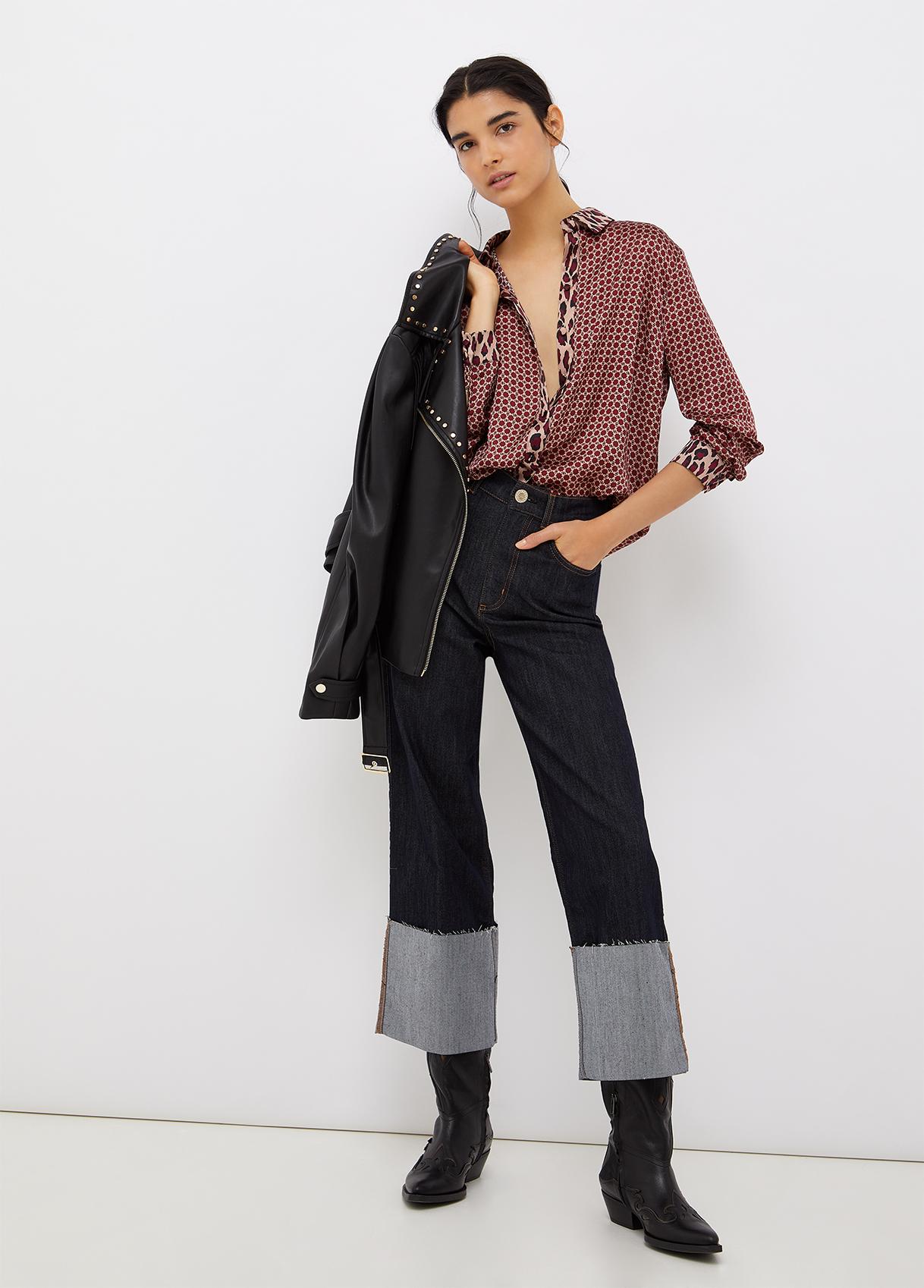 Jeans high flap LIU JO   Jeans   UF1100D309277000