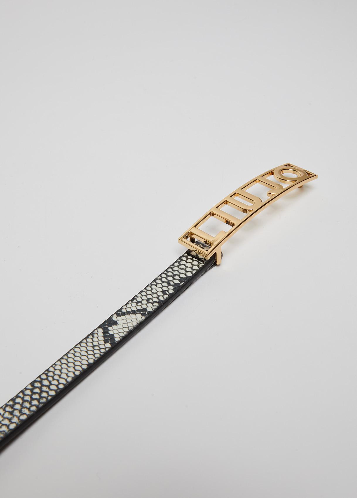 Cintura pyton  LIU JO | Cinture | UF1120E0433T9976