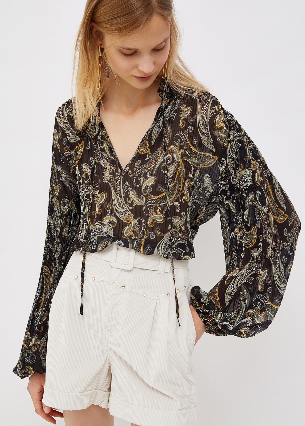 Camicia forest plissè LIU JO | Camicie | WF1003T5975T9977