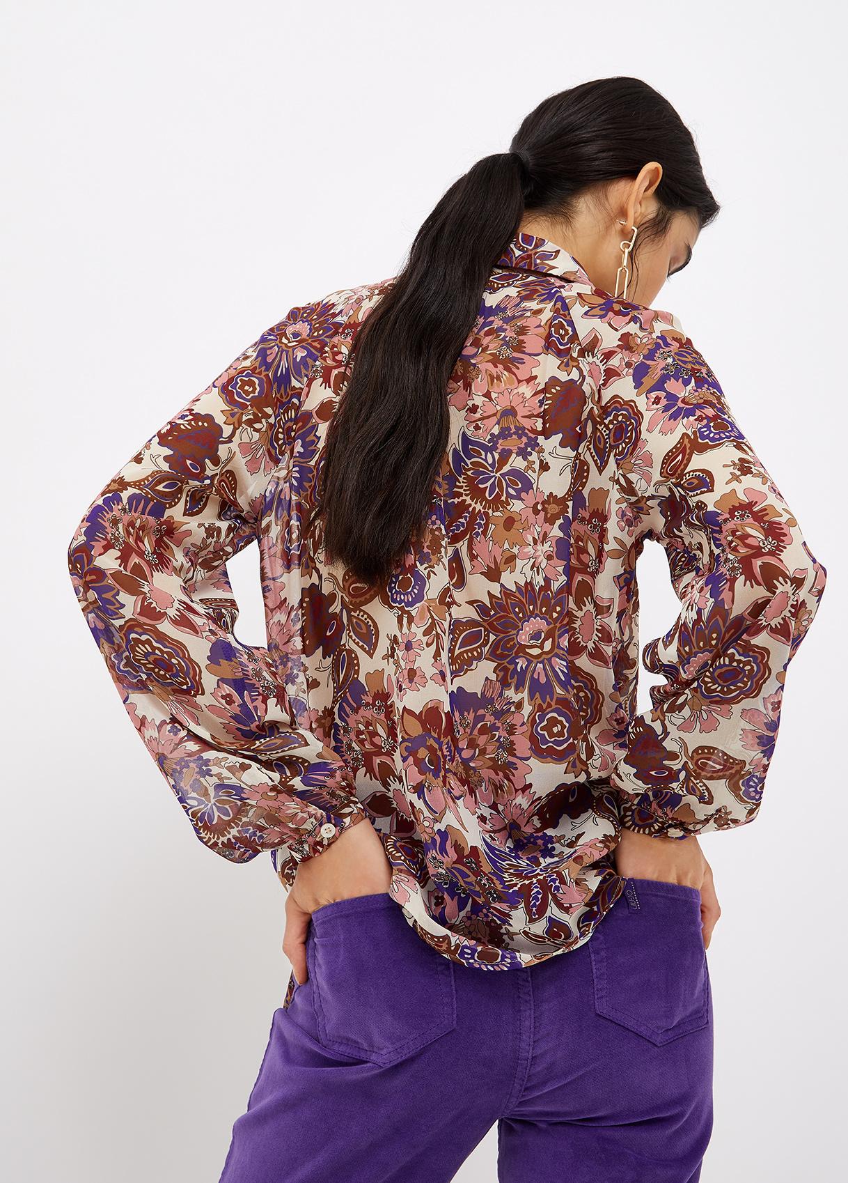 Camicia lil garden LIU JO | Camicie | WF1116T3033S9185