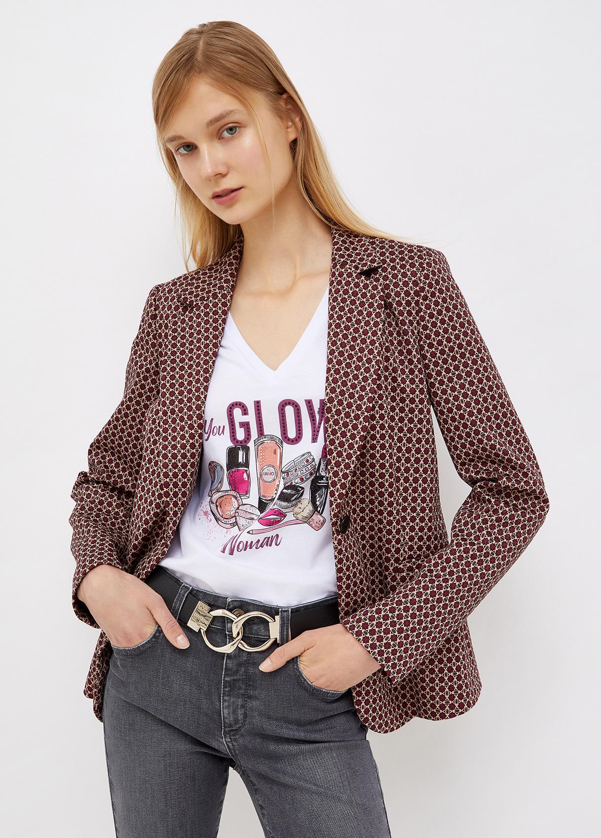 Blazer Geometric glam  LIU JO | Blazers | WF1183J1657S9175