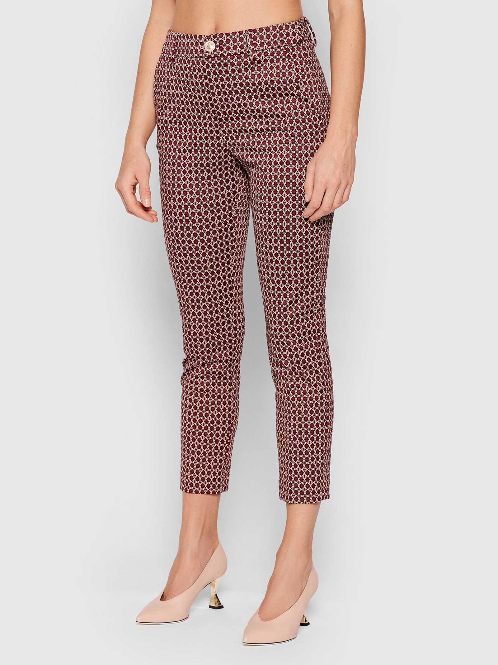 Diamond chino trousers  LIU JO   Trousers   WF1184J1657S9175