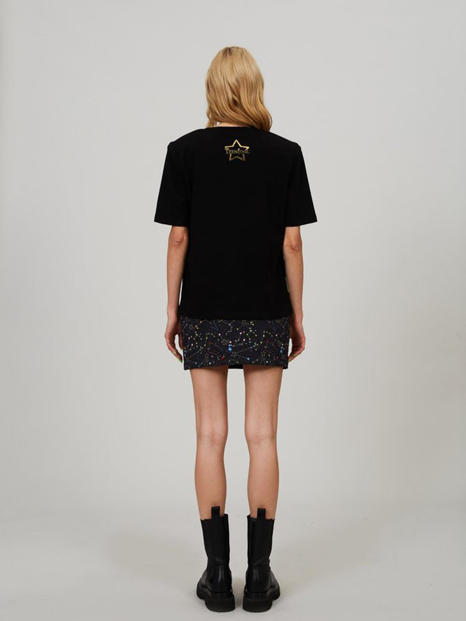 T-shirt Bryant moon  TEEN IDOL   T-Shirts   029791NERO