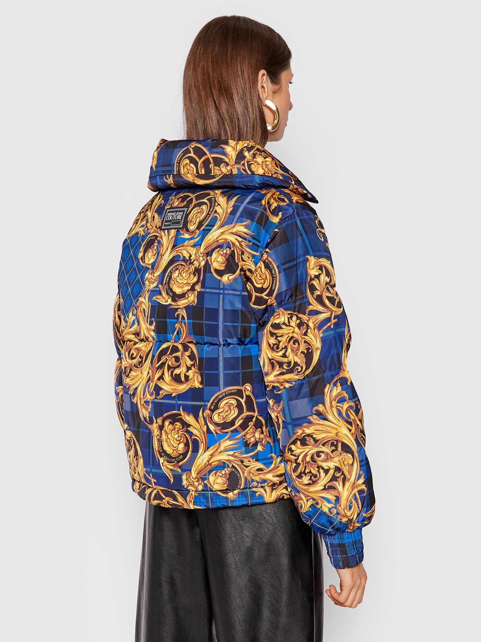 Down jacket Tartan Baroque   VERSACE JEANS   Down jacket   71HAU407G42