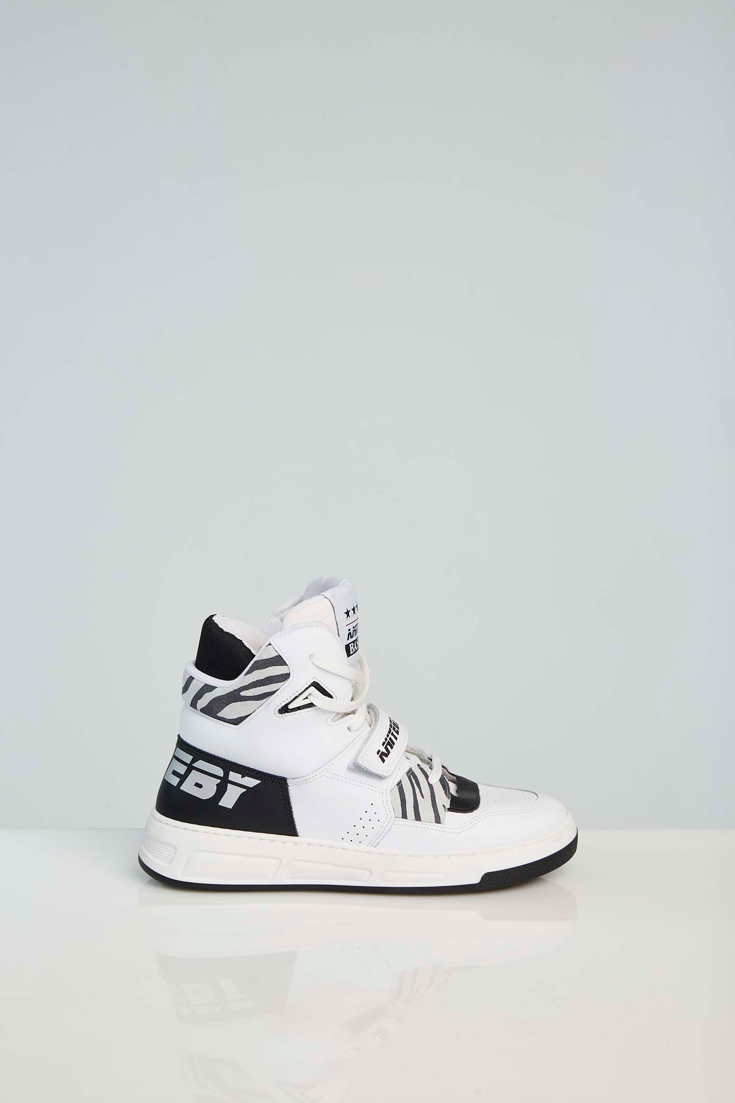 sneakers basket zebra aniye by ANIYE BY | Sneakers | 1S512801210