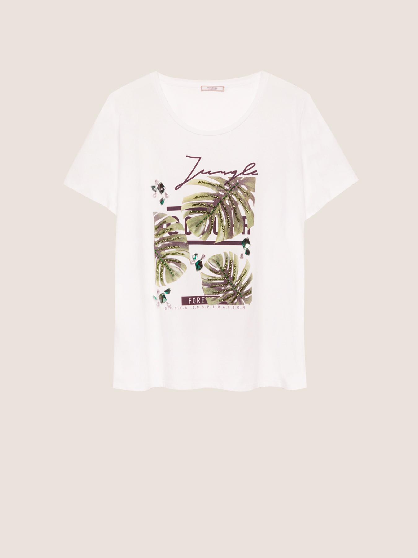 T-shirt jungle ELENA MIRO' | Tshirts Comfy | G194L088P5R1
