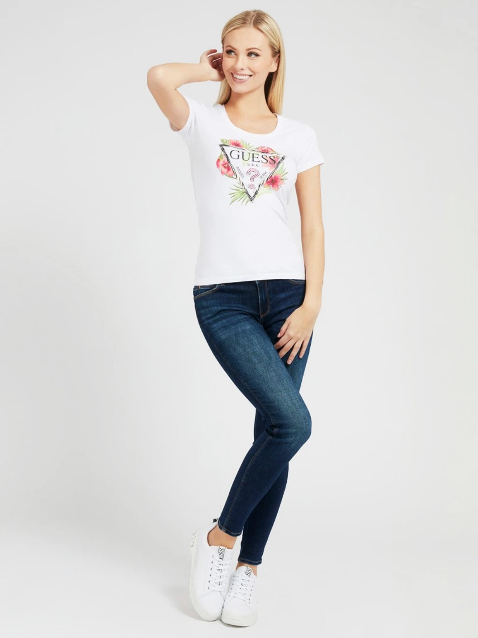GUESS | T-Shirts | W1GI0NJ1311TWHT