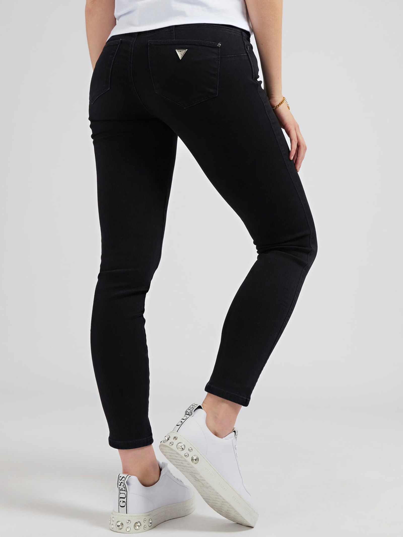 Jeans Guess curve x GUESS   Jeans   W1RAJ2D4B22GROY