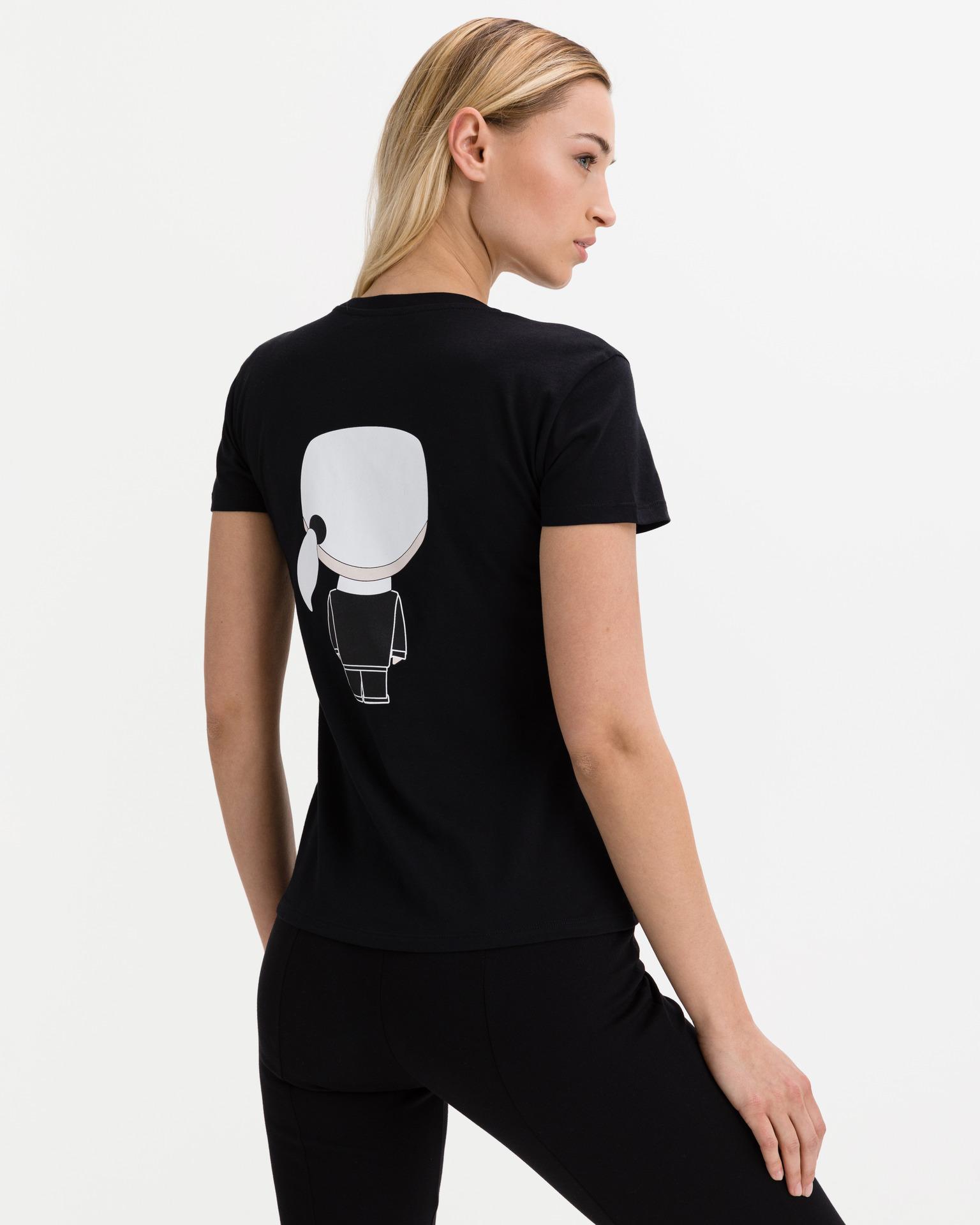 t-shirt ikonik karl KARL LAGERFELD | T-shirt | 210W1721,21999